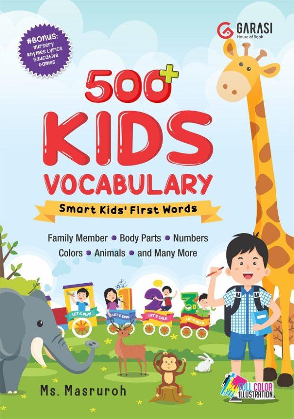 500+ kids vocabulary: Smart Kids' First Words