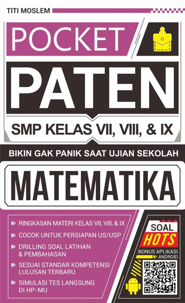 Pocket Paten Matematika SMP/MTS