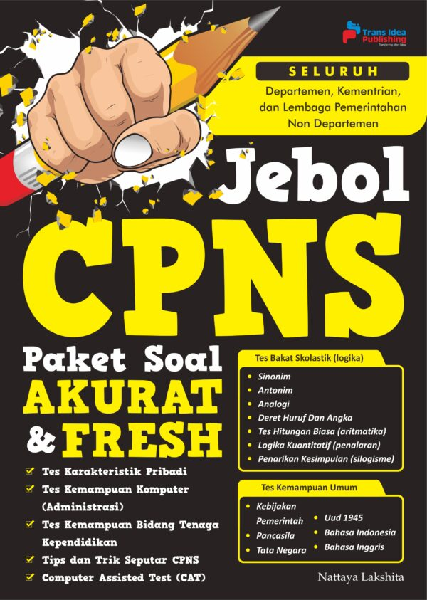 Jebol CPNS Paket Soal Akurat & Fresh